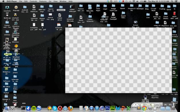 Mac OS Hides DVD Player App Region